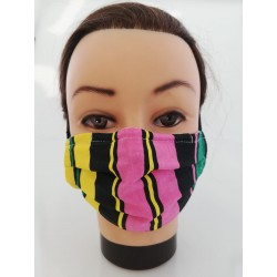 "Cotton face mask ""Colored..."
