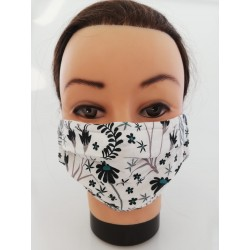 "Cotton face mask ""Nature"""