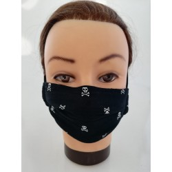 "Cotton face mask ""Skulls"""