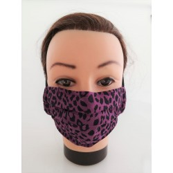 "Cotton face mask ""Pink..."