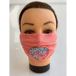 "Cotton face mask ""Donut Panic"""