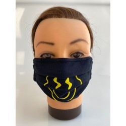 "Cotton face mask ""Yellow..."